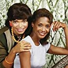 Margaret Avery and Tisha Campbell in Rags to Riches (1987)
