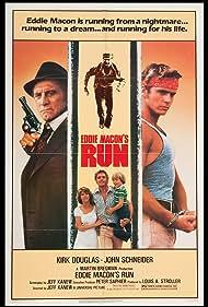 Kirk Douglas, Leah Ayres, Matthew Meece, and John Schneider in Eddie Macon's Run (1983)