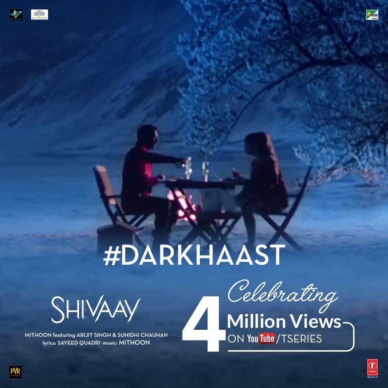 Ajay Devgn and Erika Kaar in Shivaay (2016)
