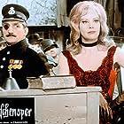 Hildegard Knef and Lino Ventura in Die Dreigroschenoper (1963)