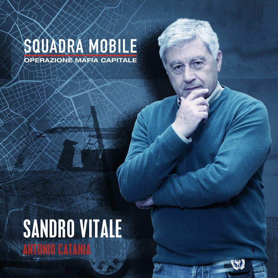 Antonio Catania in Squadra mobile (2015)