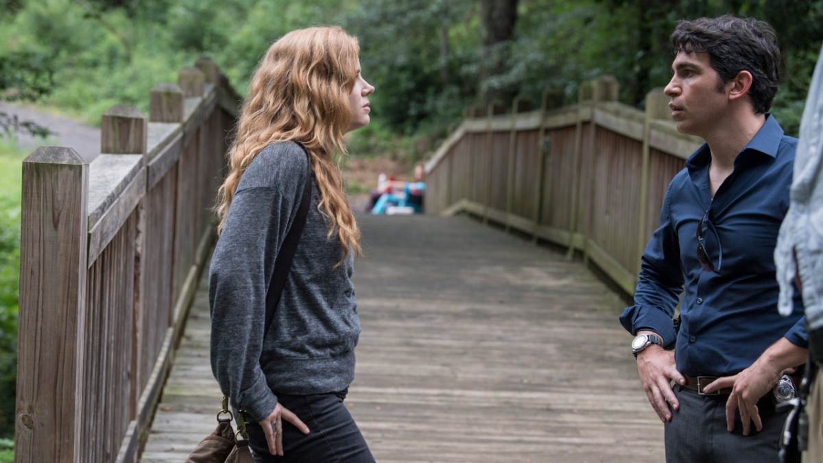 Amy Adams and Chris Messina in Sharp Objects (2018)
