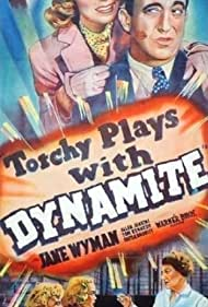 Allen Jenkins, Tom Kennedy, and Jane Wyman in Torchy Blane.. Playing with Dynamite (1939)
