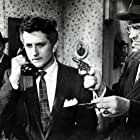 John Drew Barrymore and R.G. Armstrong in Never Love a Stranger (1958)
