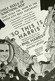 So This Is Harris!(1933) Poster - Movie Forum, Cast, Reviews