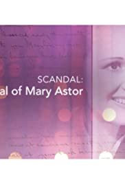 Scandal: The Trial of Mary Astor Poster