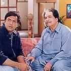 Govinda and Kader Khan in Dulhe Raja (1998)