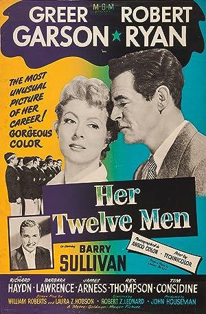 Robert Z. Leonard Her Twelve Men Movie
