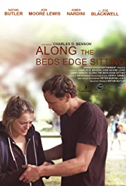 Along the Bed's Edge Sitting Poster