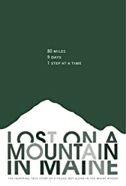 Lost on A Mountain in Maine Poster