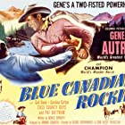 Gene Autry and Champion in Blue Canadian Rockies (1952)