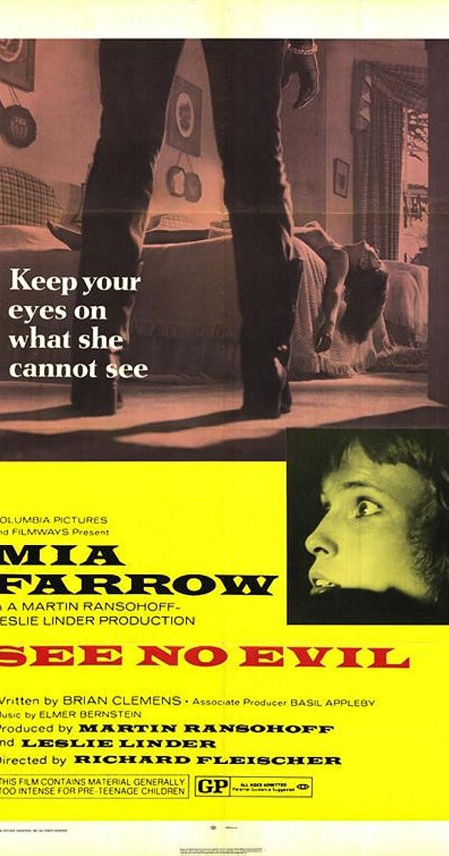 See No Evil (1971) - IMDb
