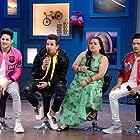Bharti Singh, Prince Narula, Priyank Sharma, and Harsh Limbachiyaa in Priyank-Prince rattle their funny bones (2019)