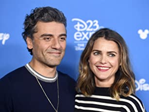 Keri Russell and Oscar Isaac