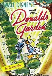 Donald's Garden Poster