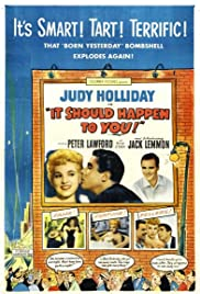 It Should Happen to You (1954) Poster - Movie Forum, Cast, Reviews