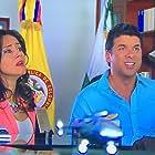 Bibiana Navas and Gustavo Ángel in Chica Vampiro (2013)