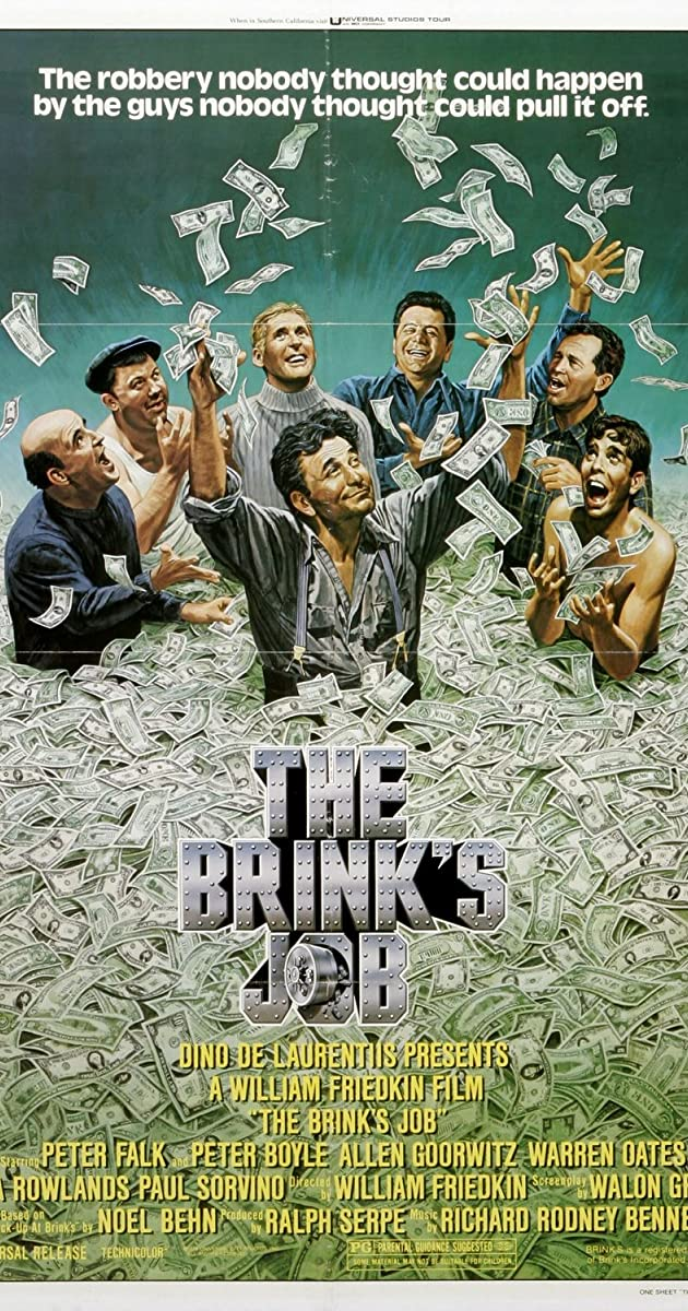 Subtitle of The Brink's Job