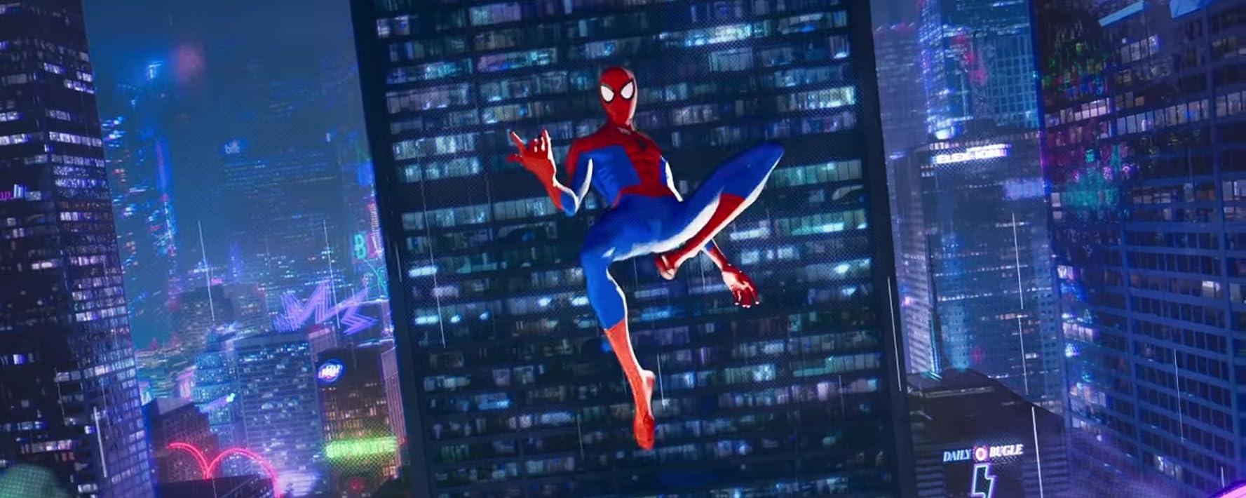 Jake Johnson in Spider-Man: Into the Spider-Verse (2018)
