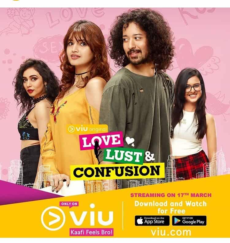 Rajat Barmecha, Tara-Alisha Berry, and Meghana Kaushik in Love Lust and Confusion (2018)