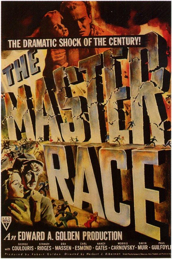 Lloyd Bridges, Nancy Gates, Osa Massen, and Gigi Perreau in The Master Race (1944)