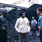 Richard Pryor and Christopher Reeve in Superman III (1983)
