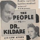 Lew Ayres and Laraine Day in The People vs. Dr. Kildare (1941)