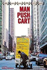 Man Push Cart Poster