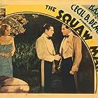 Warner Baxter, Eleanor Boardman, and Paul Cavanagh in The Squaw Man (1931)