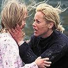Maria Bello and Abigail Stone in The Dark (2005)