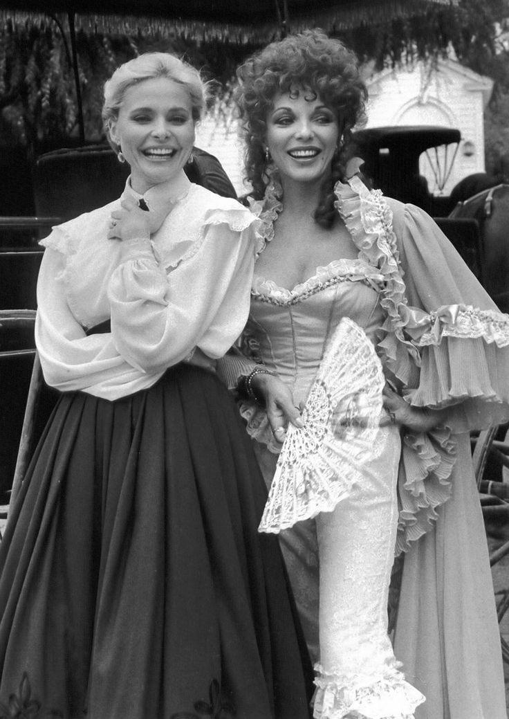 Joan Collins and Priscilla Barnes in The Wild Women of Chastity Gulch (1982)