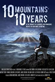 10 Mountains 10 Years Poster