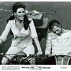Marcello Mastroianni and Raquel Welch in Spara forte, più forte... non capisco! (1966)