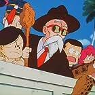 Daisuke Gôri, Mitsuko Horie, and Kôhei Miyauchi in Dragon Ball: Makafushigi Dai Bôken (1988)