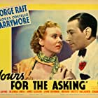 Ida Lupino and George Raft in Yours for the Asking (1936)