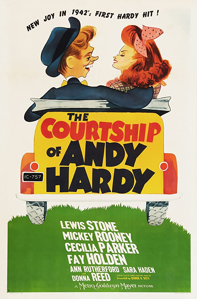 Donna Reed and Mickey Rooney in The Courtship of Andy Hardy (1942)