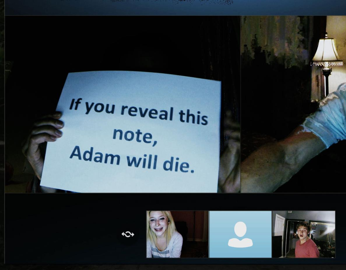 Renee Olstead and Moses Storm in Unfriended (2014)