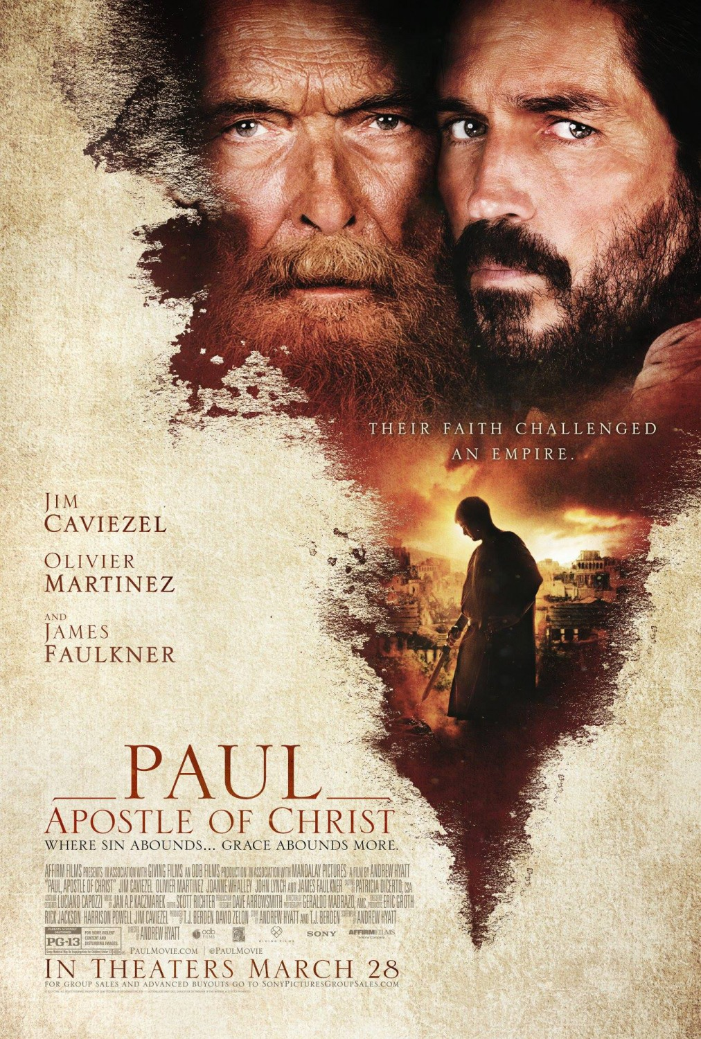 paul apostle of christ 2018 imdb