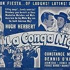Hugh Herbert, Armida, Constance Moore, and Dennis O'Keefe in La Conga Nights (1940)