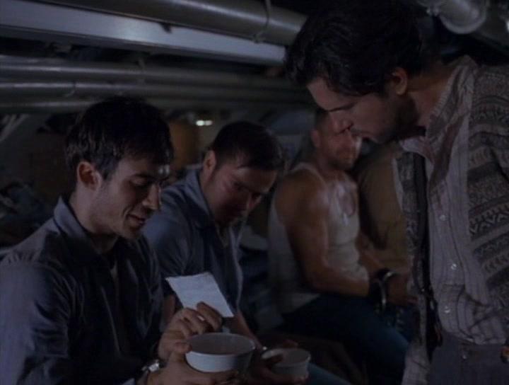 Ian Somerhalder and Matt Lindquist in In Enemy Hands (2004)