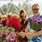 Vic Reeves and Natasia Demetriou in The Big Flower Fight (2020)