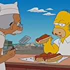 Dan Castellaneta and Kevin Michael Richardson in The Simpsons (1989)