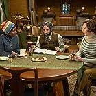 Tony Hale, Kristen Schaal, and MaameYaa Boafo in The Mysterious Benedict Society (2021)