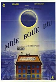 Mille bolle blu Poster