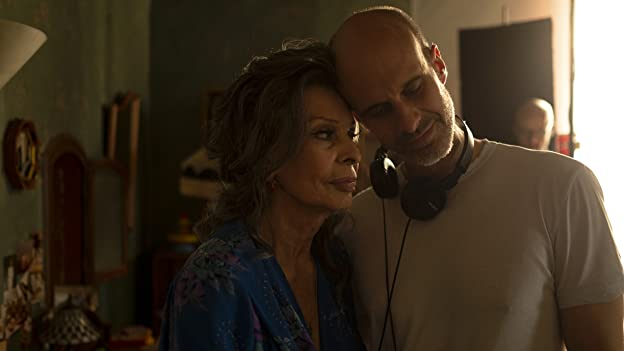 Sophia Loren and Edoardo Ponti in The Life Ahead (2020)