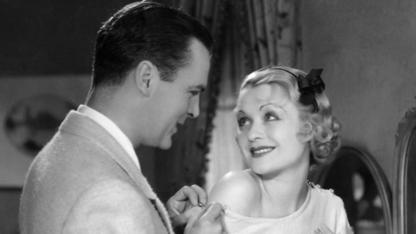 Constance Bennett and Neil Hamilton in What Price Hollywood? (1932)
