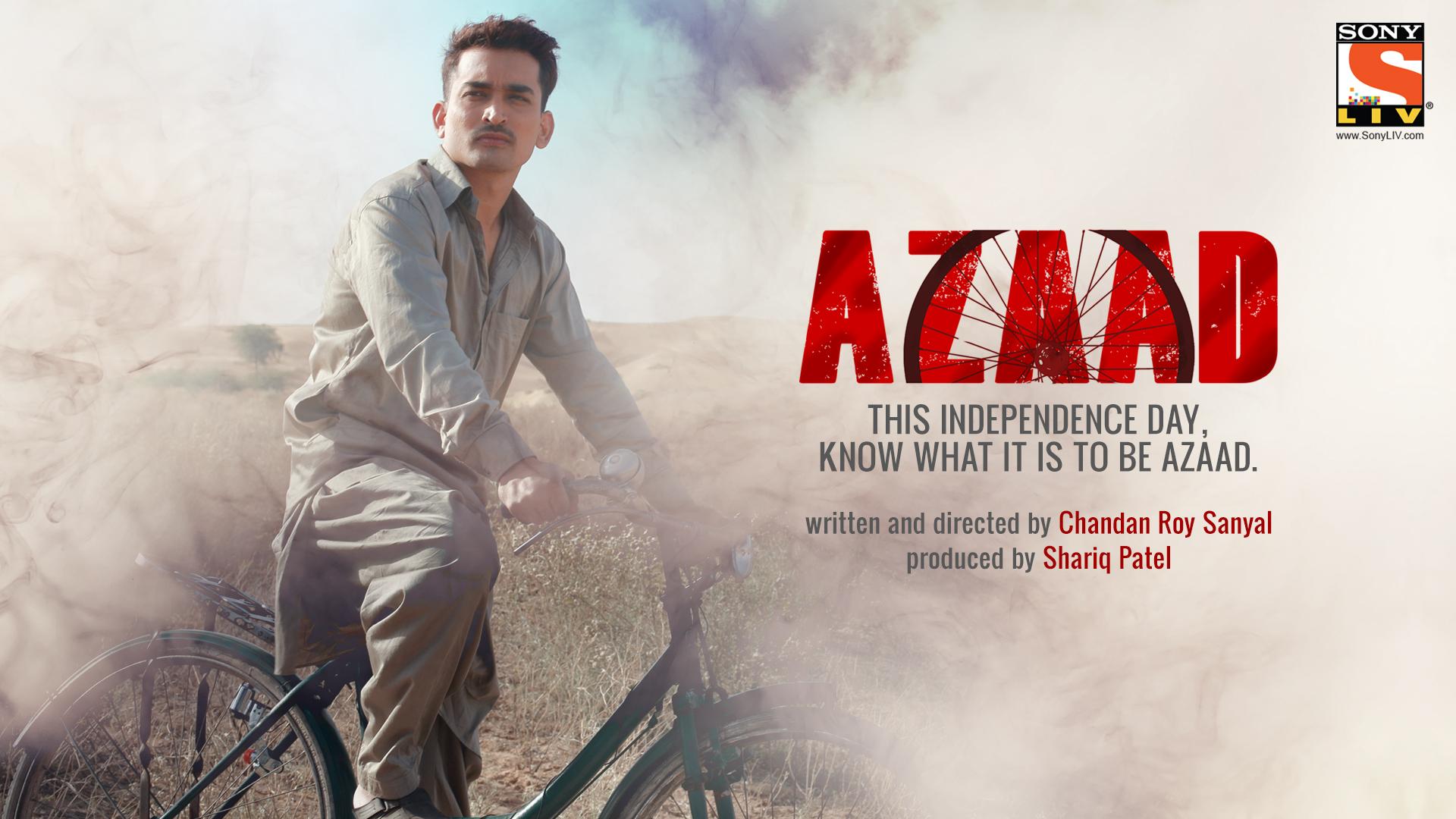 Abhay Mishra in Azaad (2016)