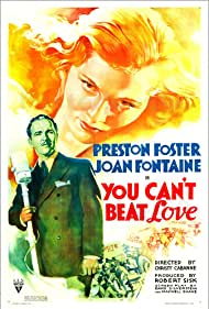Joan Fontaine and Preston Foster in You Can't Beat Love (1937)