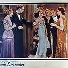 Basil Rathbone, Rose Hobart, Carmel Myers, Conrad Nagel, Vivien Oakland, Franklin Pangborn, and Genevieve Tobin in A Lady Surrenders (1930)