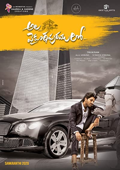 Ala Vaikunthapurramuloo (2020) Telugu WEB-DL 720P  x264 1.4GB  Download
